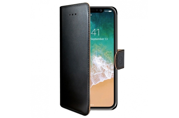iPhone X Book Case Hoesje ECHT LEER