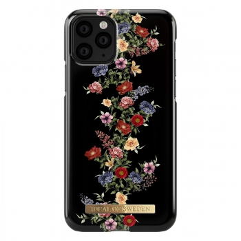 iDeal Fashion Case Dark Floral iPhone 11 Pro/XS/X