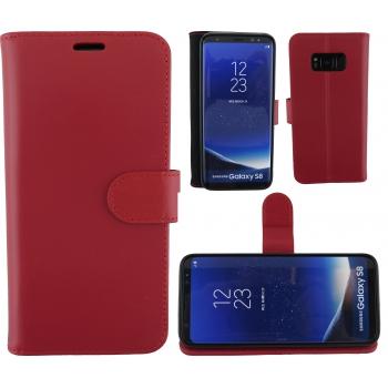 Samsung Galaxy S8 100% Leer Rood