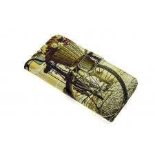 iPhone 7 'Vintage Fiets' Print Eco-Leer Hoesje