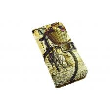 Samsung Galaxy S8 'Vintage Fiets' Print Eco-Leer Hoesje