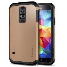 Samsung Galaxy S6 Edge Armor Bescherming Hoesje Goud