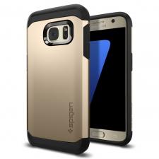 Samsung Galaxy S7 Armor Bescherming Hoesje Goud