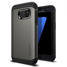 Samsung Galaxy S7 Edge Armor Bescherming Hoesje Grijs