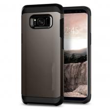 Samsung Galaxy S8 Armor Bescherming Hoesje Grijs