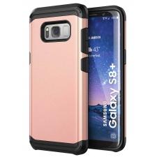 Samsung Galaxy S8 Plus Armor Bescherming Hoesje Rosé