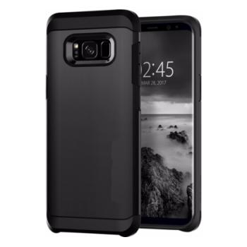 Samsung Galaxy S8 Plus Armor Bescherming Hoesje Zwart