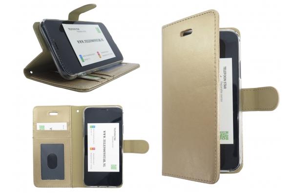 Iphone XS Max Bookcase Goud