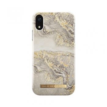 iDeal Fashion Case Sparkle Greige Marble iPhone 11/XR