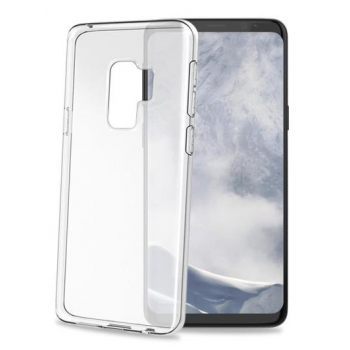 Samsung Galaxy S9 Plus transparante witte gelskin hoes