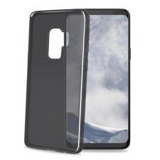 Samsung Galaxy S9 Plus transparante zwarte gelskin hoes