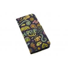 Samsung Galaxy S8 Plus 'Hippie Lifestyle' Print Eco-Leer Hoesje