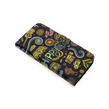 iPhone 7 'Hippie Lifestyle' Print Eco-Leer Hoesje