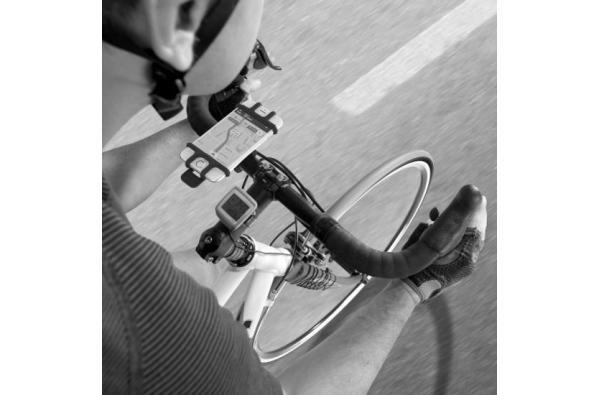 Telefoonhouder voor de fiets zachte universele houder