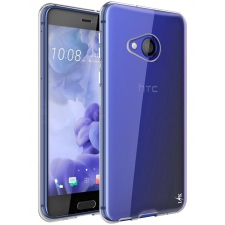 HTC U Play Siliconen hoesje Transparant