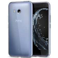 HTC U11 Siliconen hoesje Transparant