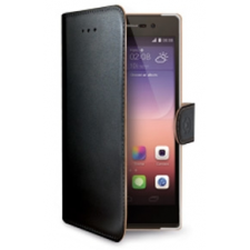 Huawei Y550 Echt leer hoesje
