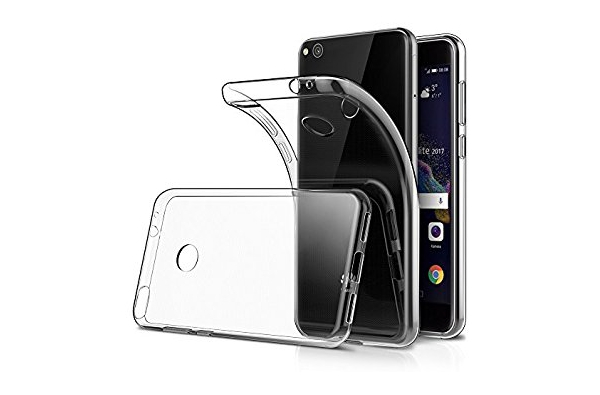 Huawei P8 Lite 2017 Siliconen hoesje Transparant