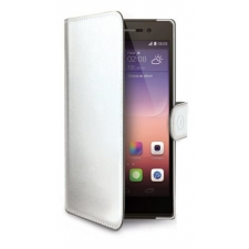 Huawei P8 Lite 2017 Echt Leer Hoesje Wit