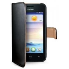 Huawei Y330 Echt Leer Hoesje