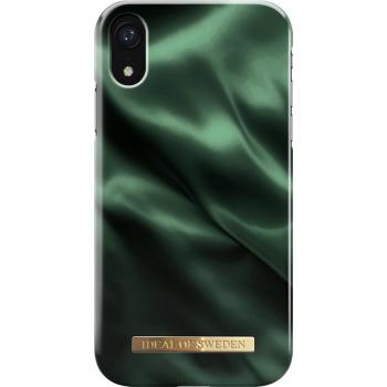 iDeal Fashion Case Emerald Satin iPhone 11/XR