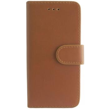 iPhone X hoesje boekmodel 100% Leer Bruin