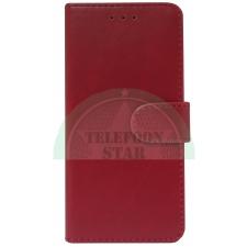 Nokia 6 Boek hoesje Echt leer in Rood