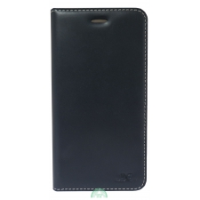 iPhone 7/8 Plus hoesje boekmodel 100% Leer Zwart
