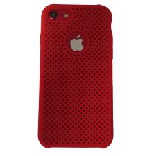 iPhone 7/8 Rubberen achterkant Hoesje in Rood