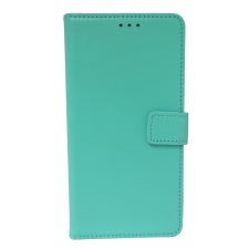 Samsung Galaxy A5 2018 Lederen boek hoes in Turquoise