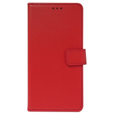 Samsung Galaxy A5 2018 Lederen boek hoes in Rood