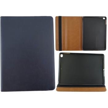 iPad Pro 12.9 (2017) 100% Leer Hoesje Donker Blauw