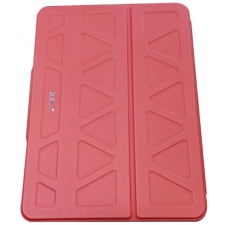 iPad mini 4 Booktype Hoes Volledige bescherming in Rood