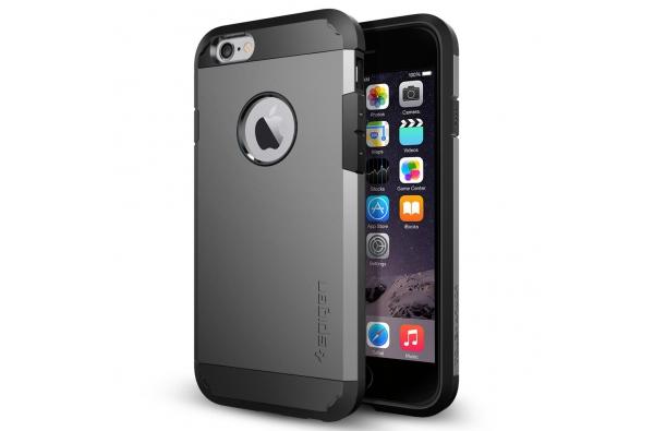 Apple iPhone 5s Armor Bescherming Hoesje Grijs