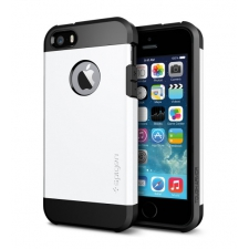Apple iPhone 5 Armor Bescherming Hoesje Wit