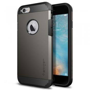 Apple iPhone 6/6S Armor Bescherming Hoesje Grijs