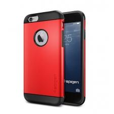 Apple iPhone 6/6S Plus Armor Bescherming Hoesje Rood