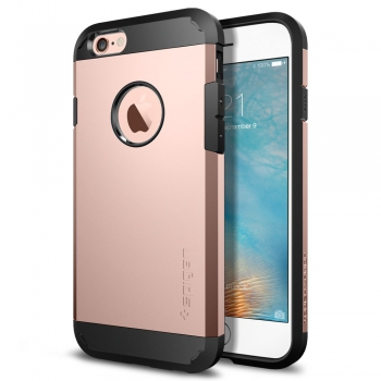 Apple iPhone 6/6S Plus Armor Bescherming Hoesje Rosé