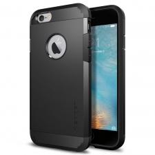 Apple iPhone 6/6S Armor Bescherming Hoesje Zwart