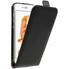 Verticale Flipcover iPhone 6s ECHT LEER