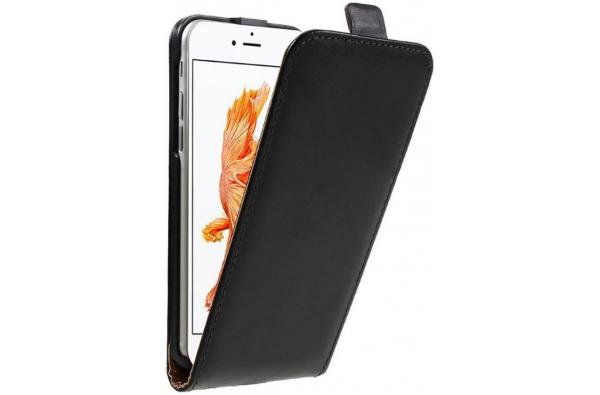 Verticale Flipcover iPhone 6 ECHT LEER