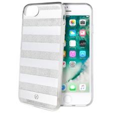 iPhone 8 Gestreepte achterkant wit