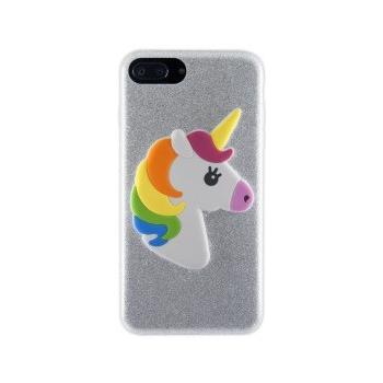 iPhone 7/8 Plus hoesje Glitter Eenhoorn