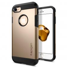 Apple iPhone 7 Plus Armor Bescherming Hoesje Goud