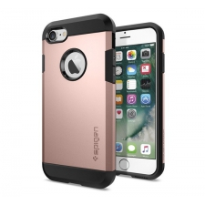 Apple iPhone 7 Plus Armor Bescherming Hoesje Rosé