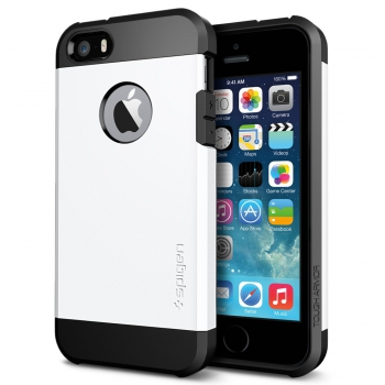 Apple iPhone 8 Plus Armor Bescherming Hoesje Wit