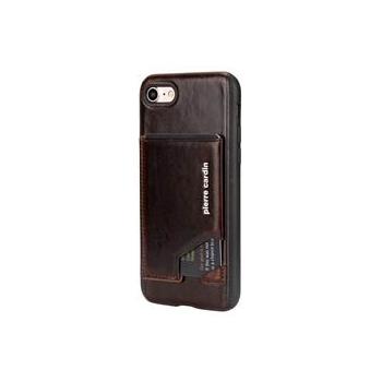 iPhone 7 Origineel Luxe Back Cover Pas 100% Leer Donker Bruin
