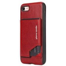 iPhone 7 Origineel Luxe Back Cover Pas 100% Leer Rood