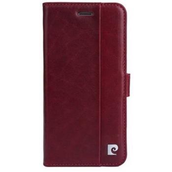 iPhone 7 Origineel Luxe Book Case Hoesje 100% Leer Rood