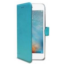 iPhone 7 Plus Echt Leer Hoesje Blauw